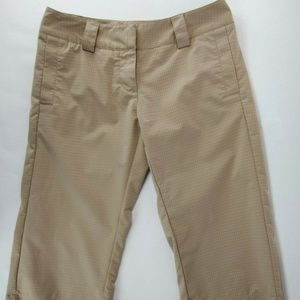 Adidas Climalite Womens Pants Cropped Capris Size